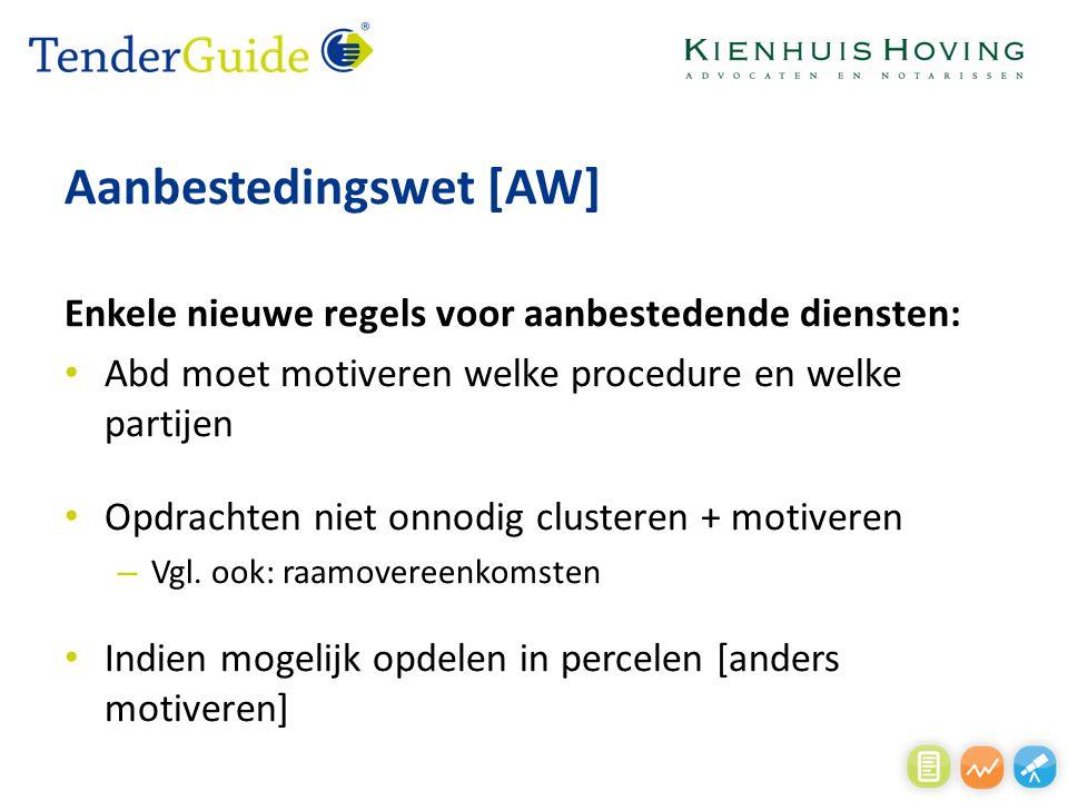 Aanbestedingswet [AW]